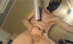 exhitibionist naked masked vacuumcleaner cumshot