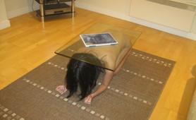 Human Table Slave