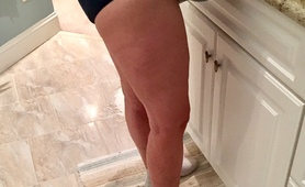Amateur Wife Liz - New Blue Panties