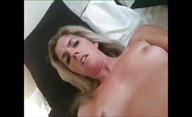 British Blonde Masturbates