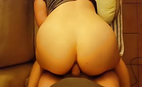 Fucking het Big Ass and Filling it With Cum