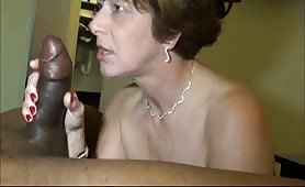 Hot MILF loves to be licked and fucked by Big black cock