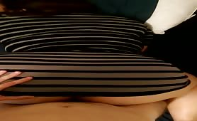 Stephs big jiggly ass on my dick