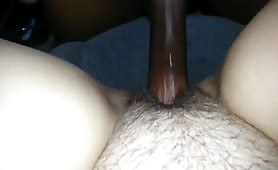 Her 1st black cock