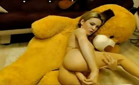 Hot babe dildo sensual orgasm