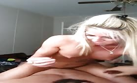 Hot blonde GF gets nailed