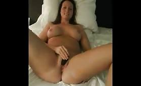 Sexy Wife Masturbates