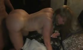 Mature PAWG Fucked While Hubby Films