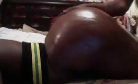 Bubble Butt Black Girlfriend Fucked Doggystyle