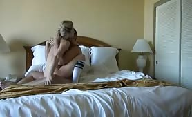 Beautiful babe long intense fuck with bf