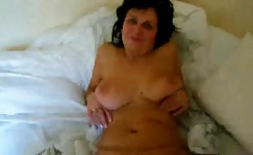 My busty mature wife