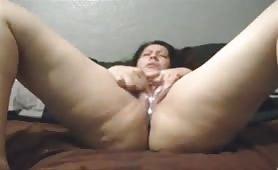 Gaping queen masturbtion